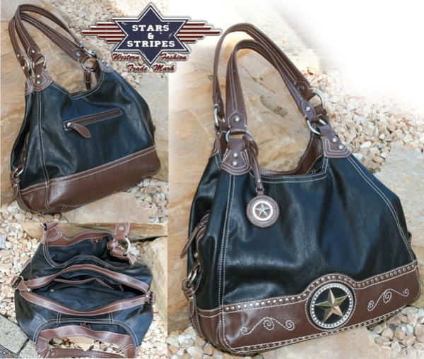 Stars & Stripes Damen Handtasche Bag-01