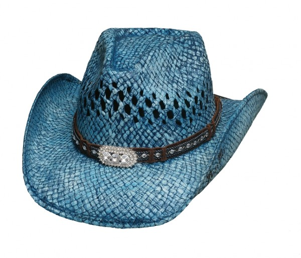 Bullhide Hat Wild and Blue