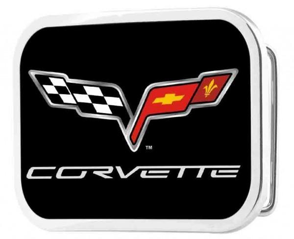 Herren-US-Car Gürtelschnalle, Corvette
