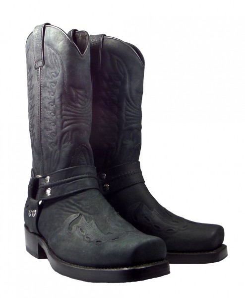 Sancho Boots 6643 Mistral Black