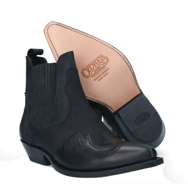 Sancho Boots 4873 Mistral Black