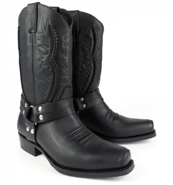 Sancho Boots 4431 Pull Grass Negro (5122)