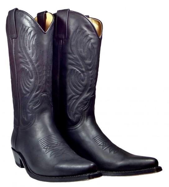 Sendra Boots 2605 Pull Oil Negro