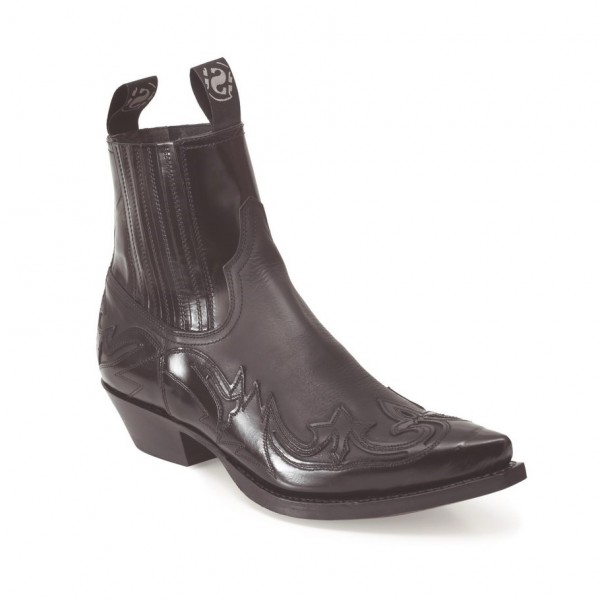 Sendra Boots 4660 Cuervo Florentic Negro Negro