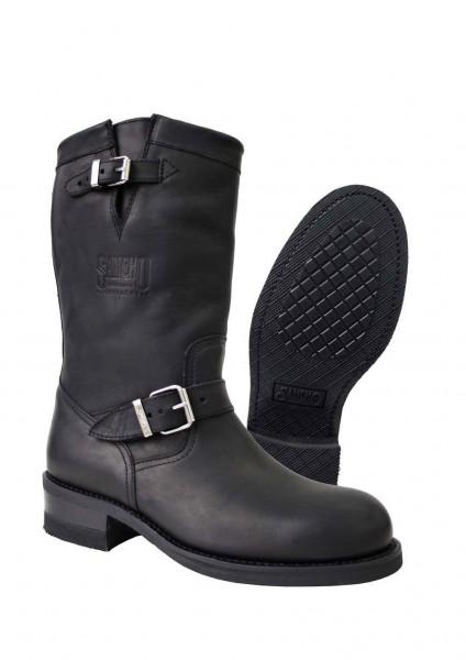 Sancho Boots 4107 Pull Grass Negro (5751)
