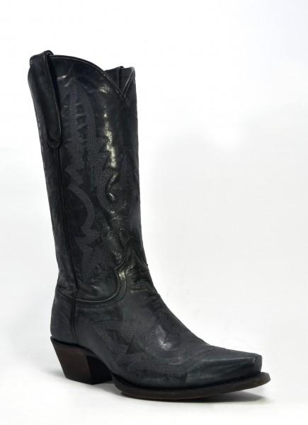 Caborca Boots Cabra Volcano Negro
