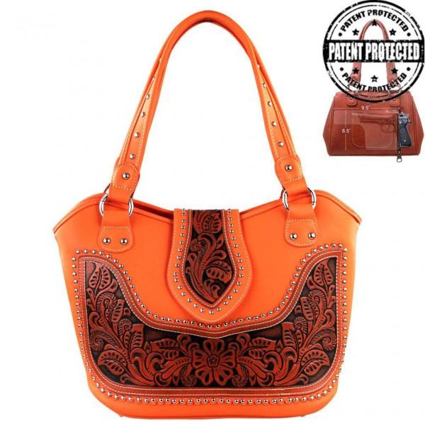 Western-Damenhandtasche Carson Brown