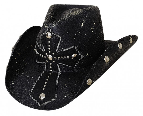 Bullhide Hat No Mercy Black