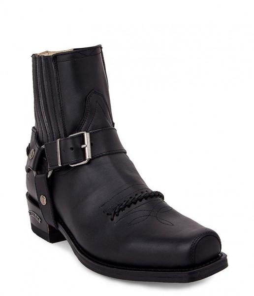 Sendra Boots 6445 Seta Pull Oil Negro