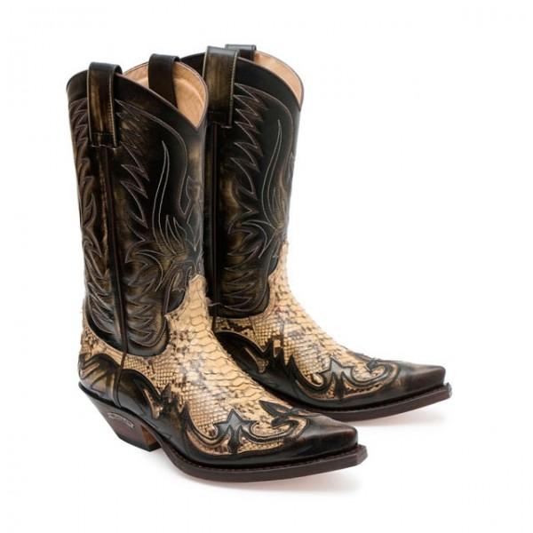 Sendra Boots 3241PD Cuervo Denver Piton Panizo