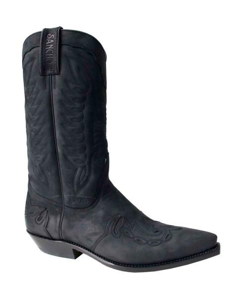 Sancho Boots 4429 Crazy Negro (5119)