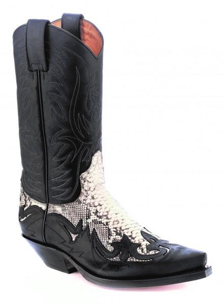 Sendra Boots 3241PN Cuervo Sprinter Piton Negro