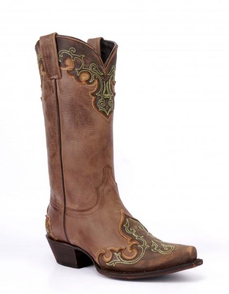 Caborca Boots MAC112C Mulan Tabaco