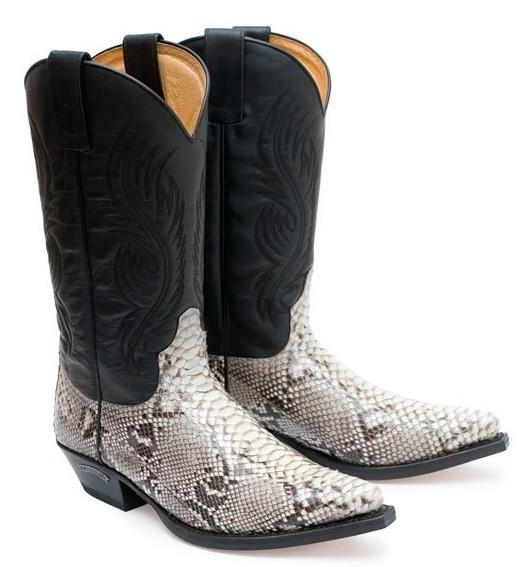 Sendra Boots 2605 Piton / Pull Oil Negro
