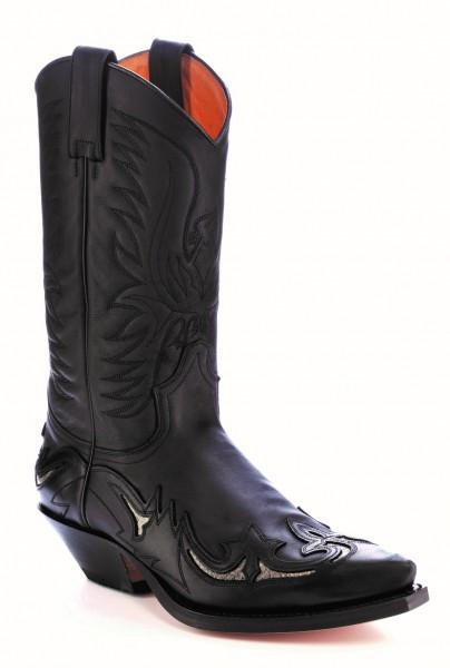 Sendra Boots 3242 Cuervo Pull Oil Negro
