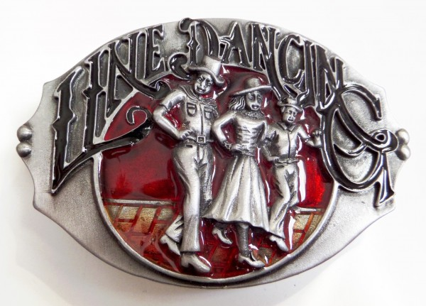 Damen-Gürtelschliesse, Line Dance
