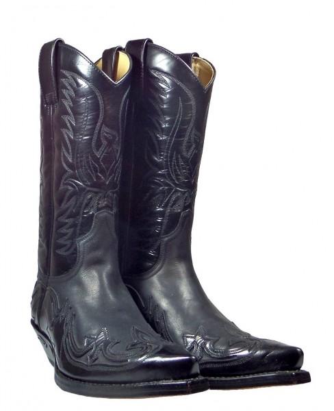 Sendra Boots 3241 Cuervo Florentic Negro Negro