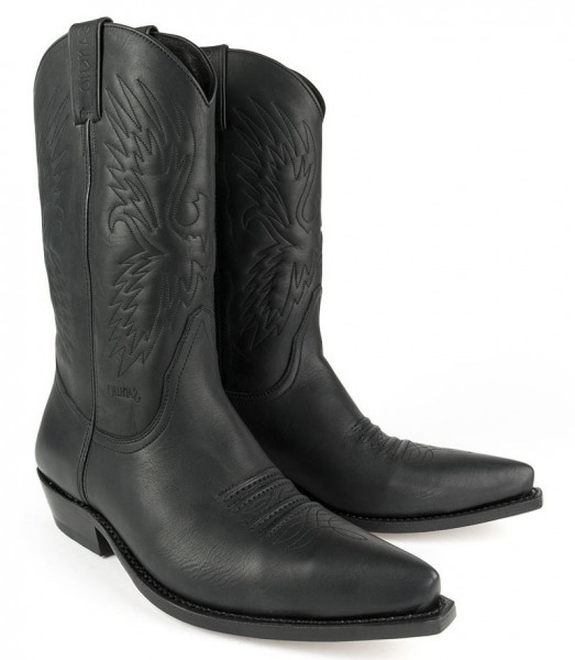 Sancho Boots 4434 Pull Grass Negro (5326)
