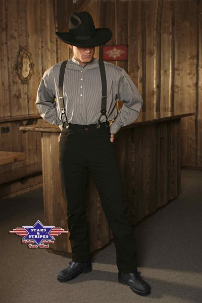 Stars & Stripes Western-Hose Dillon Black